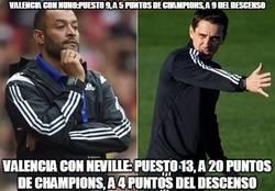 Enlace a Pues Neville no es que hay mejorado mucho al Valencia