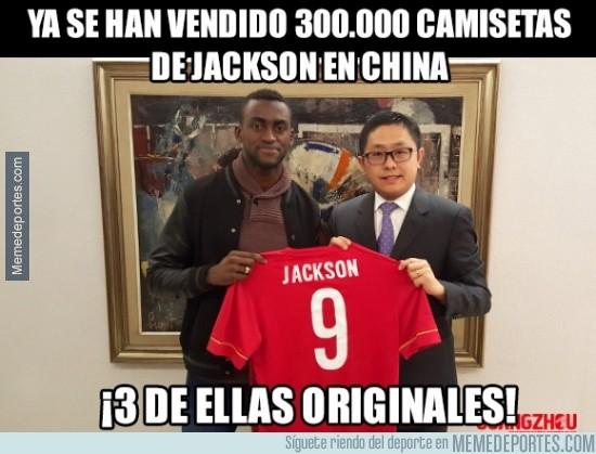 799876 - Jackson rompe rócords en la venta de camisetas... oh wait