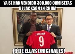 Enlace a Jackson rompe rócords en la venta de camisetas... oh wait