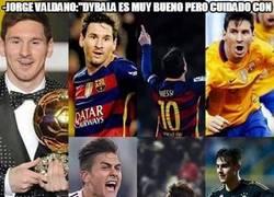 Enlace a A Dybala le faltan muchas papillas para llegar a ser la mitad de Messi