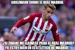 Enlace a Griezmann sobre el Real Madrid: