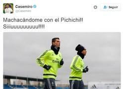Enlace a Casemiro en twitter