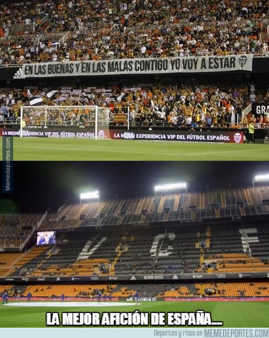 800483 - La palabra de la afición del Valencia