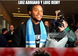 Enlace a Luiz Adriano y Remy, dos 'europeos' más a China