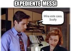 Enlace a Expediente Messi, penaltis fallados