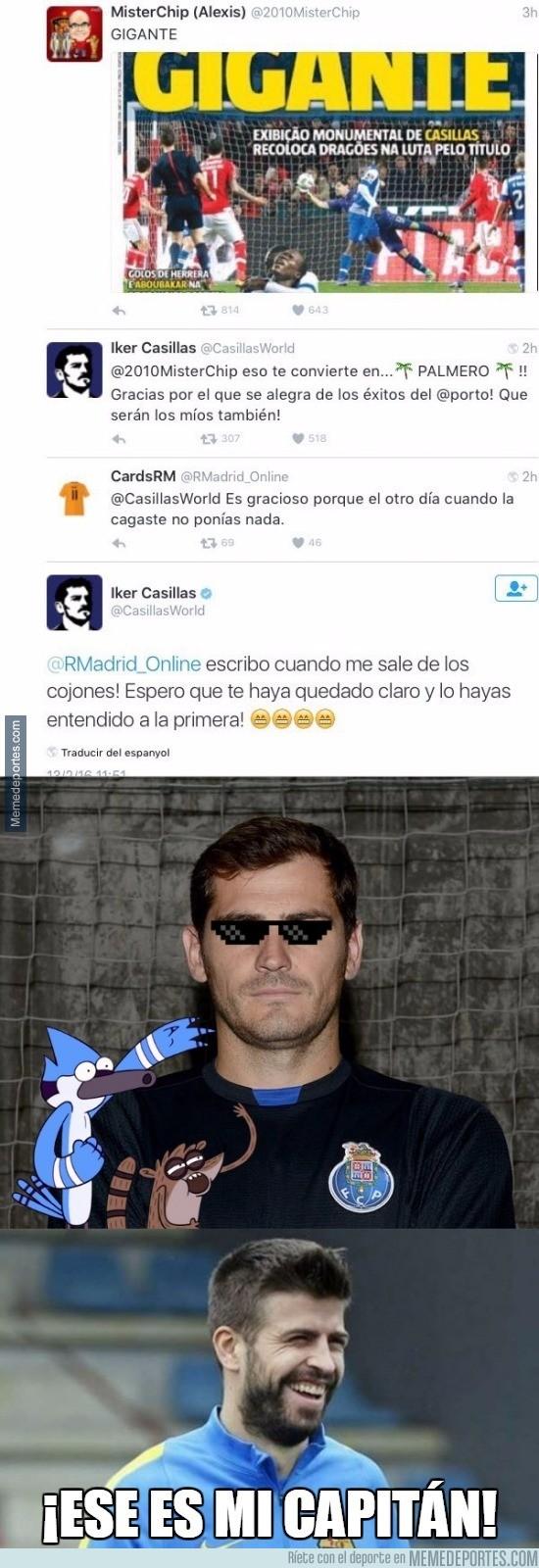 801531 - Casillas está desatado en Twitter. Atención a sus últimos tuits