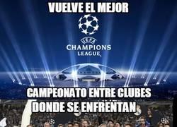 Enlace a ¡La Champions League ya está aquí de nuevo!