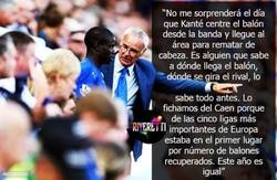 Enlace a Claudio Ranieri sobre N'Golo Kanté