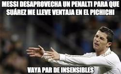 Enlace a A Cristiano no le ha gustado nada la jugada del penalti