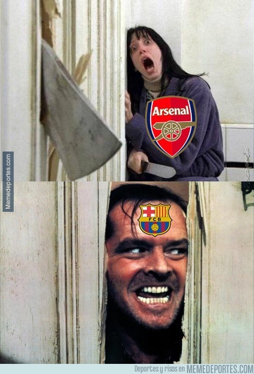 803457 - El Barcelona viene por ti Arsenal