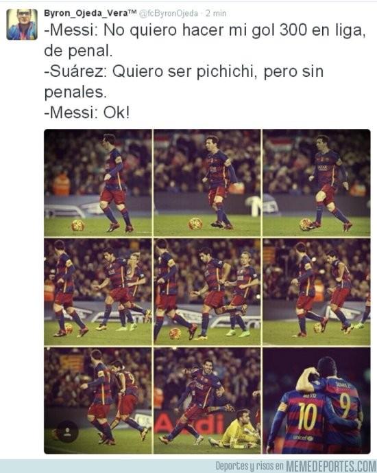803655 - La verdadera razón del penalti de Messi