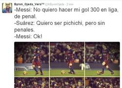 Enlace a La verdadera razón del penalti de Messi