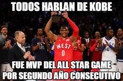 Enlace a Westbrook le quita el MVP a Kobe, el MVP del pueblo