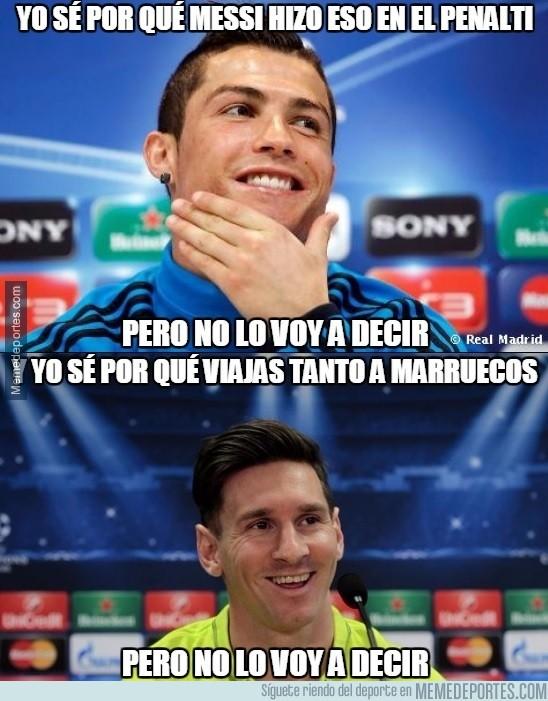 804195 - Cristiano y Messi saben muchas cosas que no van a decir
