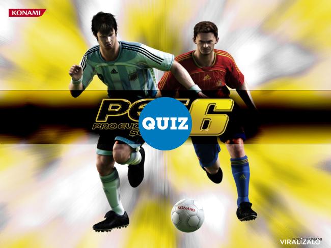 804579 - QUIZ PARA FANS DEL PES: ¿Qué jugador del PES eres?