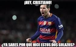 Enlace a Messi tiene una duda