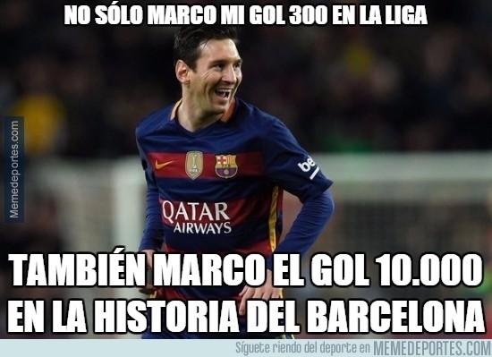 804841 - Messi hace (otra vez) historia con el Barça