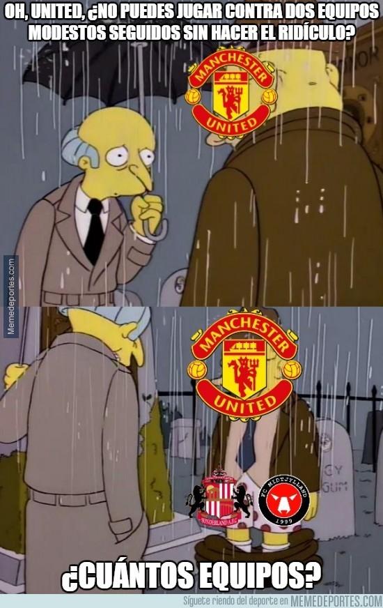 806001 - Totalmente hundido el United...