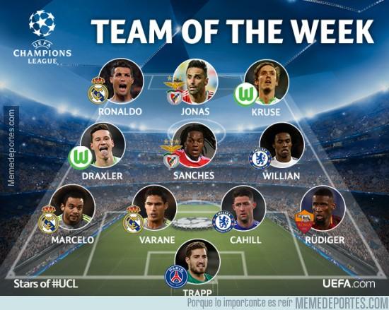806016 - El XI ideal de la semana de la gloriosa UEFA Champions League