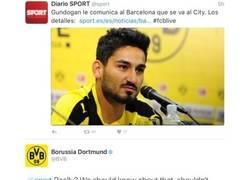 Enlace a Ridículo Sport: Cuando das información falsa y sale el propio club a desmentirte