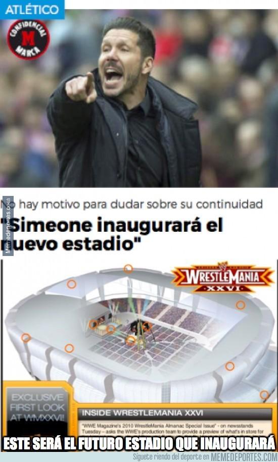 806358 - El nuevo estadio del Atleti lo inaugurará Simeone