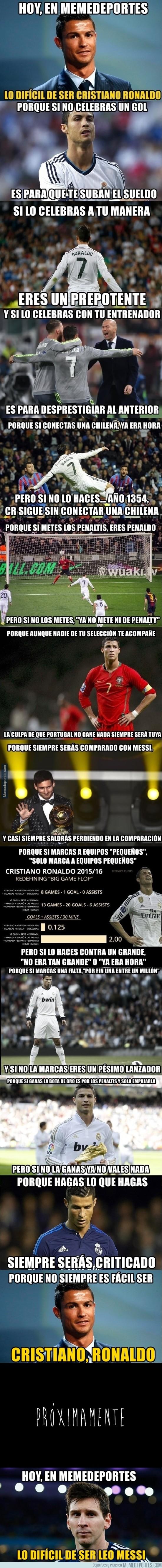 806366 - Lo díficil de ser Cristiano Ronaldo