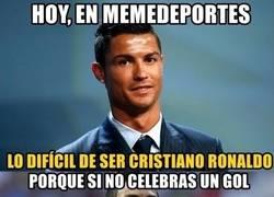 Enlace a Lo díficil de ser Cristiano Ronaldo