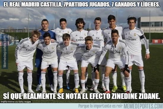 806623 - El Real Madrid Castilla sin Zidane es otra cosa
