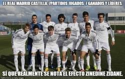 Enlace a El Real Madrid Castilla sin Zidane es otra cosa