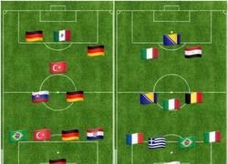 Enlace a ¿Sabrías reconocer estos equipos europeos con las banderas de su país? (Nivel fácil)