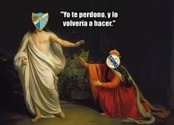 Enlace a El Málaga contra el Madrid