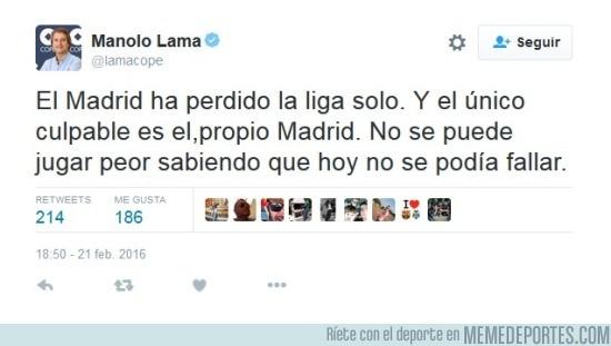 807651 - ¡ATENCIÓN! ¡PÍNCHAME! Por pura IMPARCIALIDAD Lama quita méritos al Málaga