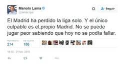 Enlace a ¡ATENCIÓN! ¡PÍNCHAME! Por pura IMPARCIALIDAD Lama quita méritos al Málaga