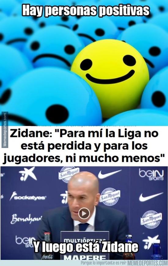 807674 - El pensamiento positivo de Zidane