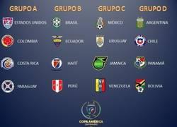 Enlace a Así quedan los grupos de la Copa América Centenario. ¿Qué te parece?