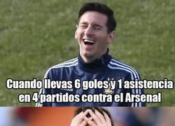 Enlace a ¿Rival fácil o difícil para Messi?