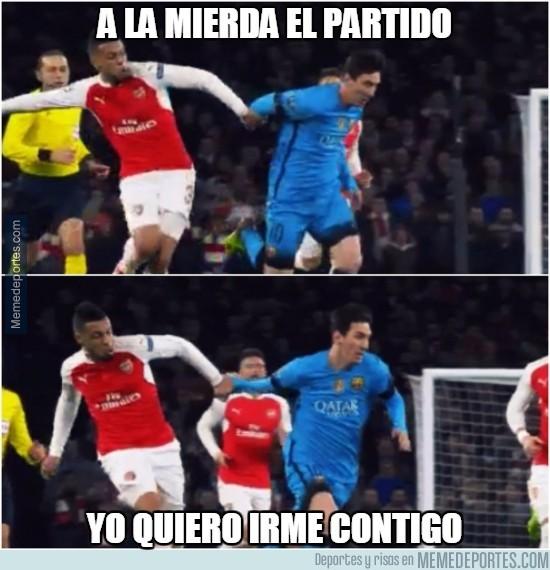 808632 - Messi, olvida el partido