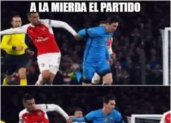 Enlace a Messi, olvida el partido