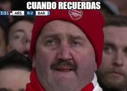 Enlace a Mucho ánimo a los aficionados del Arsenal
