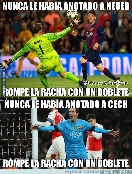 809063 - Messi sabe cómo romper malas rachas