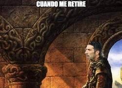 Enlace a Buffon nombrando a su sucesor
