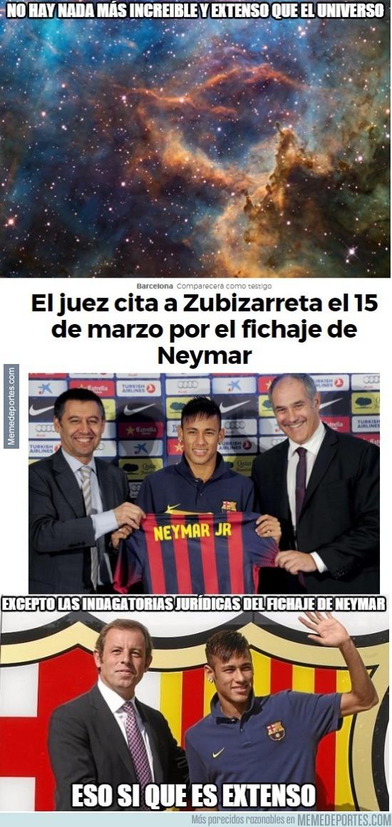809999 - Aún se discute el fichaje de Neymar