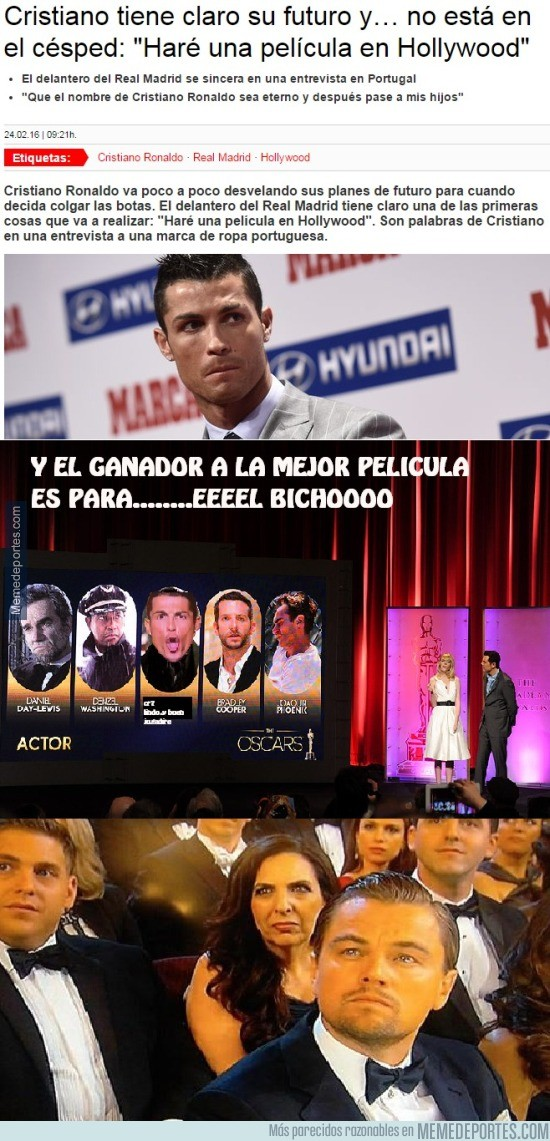 810356 - Pobre Leo DiCaprio... la que le espera