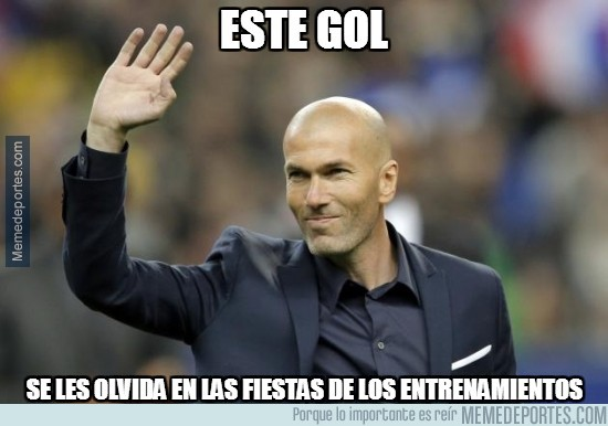 810815 - Zidane tiene el remedio para superar el gol de Griezmann