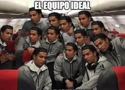 Enlace a Así sería feliz Cristiano en el Real Madrid