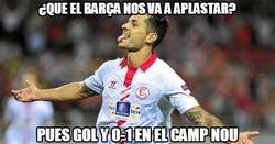 Enlace a Vitolo silencia el Camp Nou