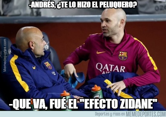 812825 - Andrés, ¿te lo hizo el peluquero?