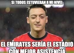 Enlace a El nivel de Özil