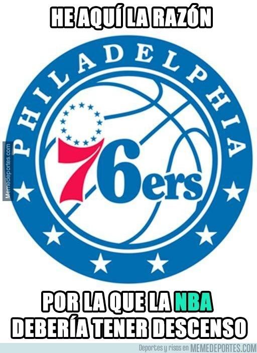 813466 - 76ers, la vergüenza de la NBA