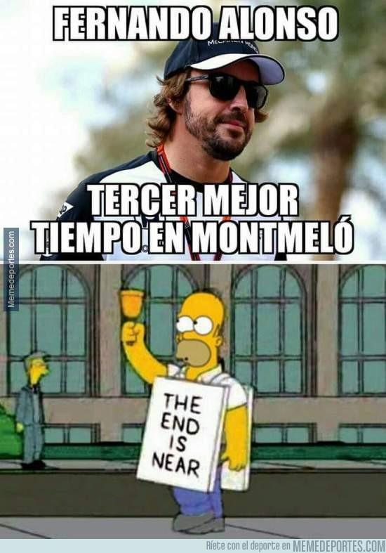 813579 - ¡Fernando Alonso tercero en Montmeló!